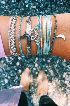 Shop Pura Vida for the latest handmade bracelets and accessories. Pura Vida Bracelets, Cute Bracelets, Handmade Bracelets, Bracelets For Men, Jewelry Bracelets, Fashion Bracelets, Stacking Bracelets, Summer Bracelets, Cute Jewelry