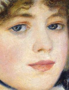 By the Seashore - Auguste Renoir (1841–1919 ) - Date: 1883 - Detail