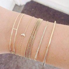 35 bijoux minimalistes pour les filles les plus délicates…
