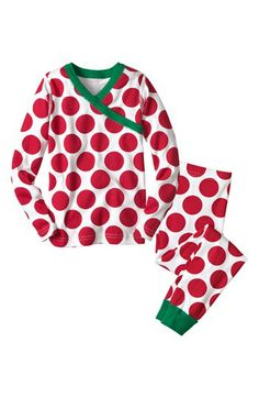 Hanna Andersson Two Piece Fitted Pajamas (Toddler) available at #Nordstrom