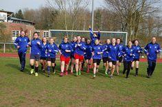 1. B-SSV-Mädchen-Mannschaft: Jetzt geht´s ins Pokalhalbfinale