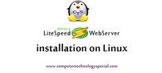 Open Lite Speed Web server installation on centOs7