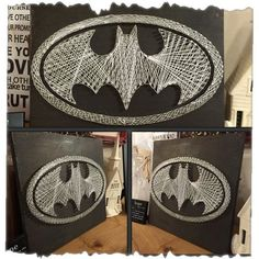 Custom Made Batman String Art by UniquelyWound on Etsy