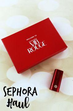 Sephora VIB Rouge Haul