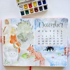 Are you ready for some exciting December Bullet Journal themes? We've got festive cover pages and themes for the Holiday season! Bullet Journal Year At A Glance, Bullet Journal Student, Bullet Journal October, Bullet Journal Travel, Bullet Journal Quotes, Bullet Journal Cover Page, Journal Fonts, Bullet Journal Ideas Pages, Bullet Journal Layout