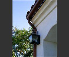 Transforming Santa Barbara Fixer Property to Spanish Home Spanish House, Spanish Colonial, Spanish Style, Spanish Exterior, Wall Lights, Ceiling Lights, Beautiful Homes, House Beautiful, House Roof