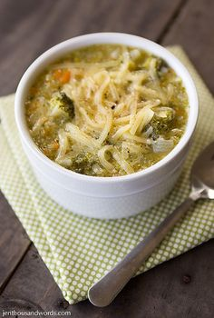 brocolli cheese soup by jengrantmorris, via Flickr