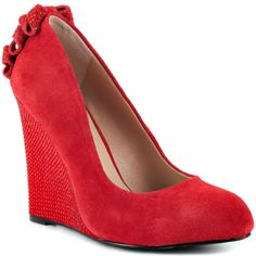 Chhase - Red Suede  Betsey Johnson