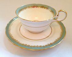 Aynsley Glenwood Nile 1170 Bone China Cup & by myprettylilthings, $12.00