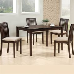 Fabulously designed dining set that brings in the right ambiance for a perfect dining experience. Ideal to go with contemporary and traditional decors. Wooden Dining Tables, Dining Set, Dining Chairs, Home Office Furniture, Bedroom Furniture, Online Furniture Stores, Traditional Decor, At Home Store, Contemporary