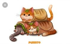 Daily Painting Catcus by Cryptid-Creations on DeviantArt Cute Food Drawings, Cute Animal Drawings, Kawaii Drawings, Anime Animals, Funny Animals, Cute Animals To Draw, Chibi, Animal Puns, Animal Food