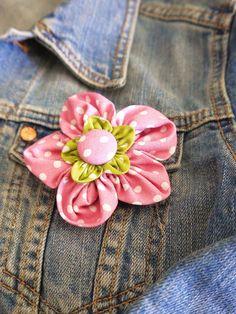 On My Mind: Kanzashi Blumen - Kanzashi flowers