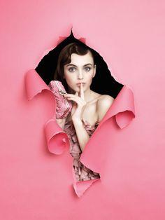Designer: Chiara P Campaign: Fall Winter 2012 Hair: Givanni Erroi Makeup: Bonnie Caria Style: Emily Lee Model: Olga Sannikova (2morrowmodel, Milano) Photography: Piero Perfetto