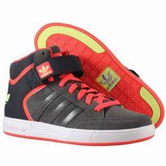 Baskets Adidas Collection printemps-été 2014  Adidas - Varial Mid Shoes DarkCin/Pop/Glow