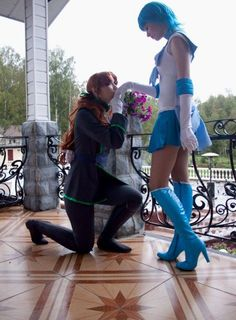 Sailor Mercury x Lord Zoisite cosplay Sailor Moon Cosplay 3a2f6a62d0c2