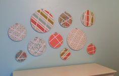 fabric hoop bow holders