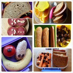 Olgamors finurligheter: Noen litt rare matpakker