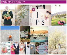 Palm Springs Desert Wedding Inspiration | Don't miss style tips, inspiration and jewelry picks for your summer wedding!