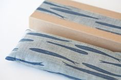 Dried Lavender and flax seeds eye pillow in the Gift by OSProjects