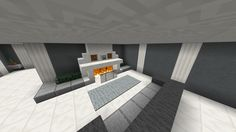 Minecraft alternate fireplace