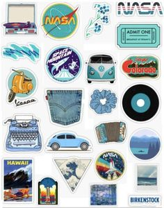Retro blue sticker pack retro blue stickers vintage aesthetic retro aesthetic light blue dark blue aqua navy blue the great wave posters nasa flowers denim record sticker pack overlays Stickers Cool, Tumblr Stickers, Phone Stickers, Cute Laptop Stickers, Laptop Wallpaper Desktop Wallpapers, Trendy Wallpaper, Dark Wallpaper, Macbook Wallpaper, Desktop Backgrounds