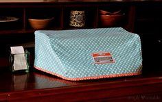 This typewriter cover pattern will fit your vintage Olympia typewriter. Much better (and cuter) than the old, smelly vinyl covers!
