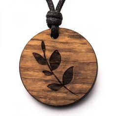 Blatt - 3in1_diy_schmuck Holzschmuck aus Naturholz / Anhänger Laser Cut Wood, Wood Work, Wood Crafts, Cnc, Woodworking, Inspiration, Jewelry, Necklaces, Diy Jewelry Necklace