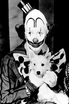 the greatest show on earth. Jimmy Sweet Jimmy Thank you for telling us you do anything you put your mind to in It's a wonderful life!! And Finally the main message in this here picture his character loves being a clown sooo much refuses to wipe it off. So You can be weird and still be compassionate