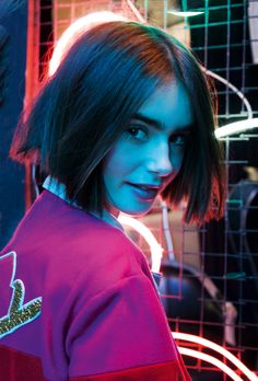 Lily Collins for ASOS