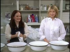 Cleaning Fine Antique Linens Videos | Home & Garden How to's and ideas | Martha Stewart