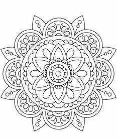 mandala art therapy Super Drawing Ideas Mandalas A - arttherapy Mandalas Drawing, Mandala Coloring Pages, Mandala Painting, Coloring Book Pages, Dot Painting, Unique Coloring Pages, Mandala Doodle, Mandala Tattoo, Mandala Design
