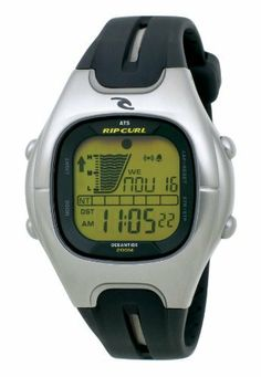 Rip Curl Men's 17146-BLK Method Oceantide Black Stainless Steel Tide Watch Rip Curl. $102.49. Dual Time, Light, Countdown Timer, Stop watch, Alarm, and date functions. 316L stainless steel case: The highest grade of stainless steel for water resistance, strength and non-corrosion in a marine environment.. Water-resistant to 660 feet (200 M). Automatic Tide System (ATS): Rip Curl's patented averaging tide system. Easily set to thousands of beaches worldwide.. Poly Urethane strap r...