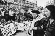 28 agosto 1968. A Venezia 'controfestival' del cinema guidato da Cesare Zavattini