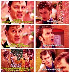 """The Next Doctor. this was a good episode. and I liked how Jackson Lake's companion was named """"Rosita"""", like Rose."""