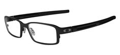 Satin Black/52 - Oakley Deringer prescription eyewear
