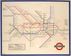 Map of the Underground, Henry Beck, 1933