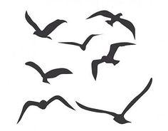 . Vinilo Decorativo Vuelo de Pájaros 01378