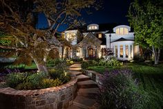 Laguna Hills Country French Manor - traditional - exterior - orange county - by GRADY-O-GRADY Construction & Development, Inc.