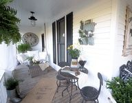 Funky Junk Interiors: SNS 132 link party - Porches and patios
