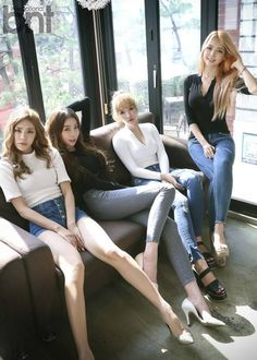 Stellar talk about what they're really like and look amazing in their 'International bnt' photoshoot | allkpop.com