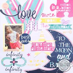 Love You More by Heather Leopard for Scrapbook Expo