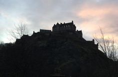 Edinburgh Castle, New Year's Day 2015 (Edinburgh, Scotland)
