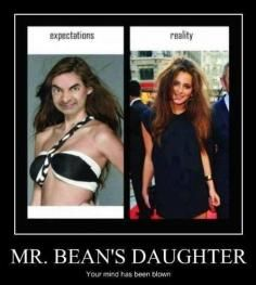 WHAT! ?! Mr. Beans Daughter