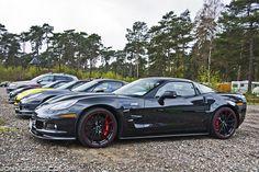 Love the color scheme. 2009 Corvette, Corvette Zr1, Chevrolet Corvette, Chevy, My Dream Car, Dream Cars, Wide Body, Guy Stuff, Exotic Cars
