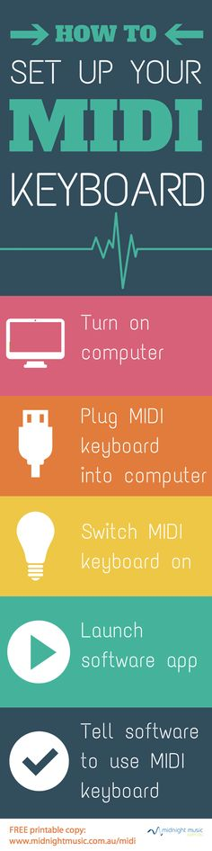 How to set up your MIDI keyboard   Midnight Music