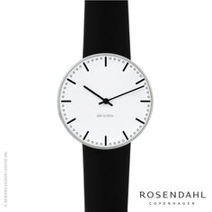 Rosendahl Arne Jacobsen City Hall 40mm Wrist Watch