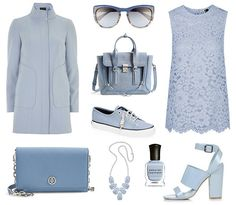 Pantone Colors of Spring 2015:  Dusk Blue - Great color although not really crazy about any of these items.