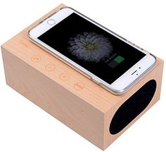 Top quality speaker,bright treble, deep bass.Pure wood, texture surface,stylish appearance * Integrate clock, alarm,speaker and thermometer function in one. Easily paired with Bluetooth-enabled devices,easy to enjoy * Simple appearance,easy setting, LED digital display, high sense touch key. With Hands-free function * Built-in microphone, have a clear call. 3.5 mm stereo line-in cable for playing other audio devices. * (Placed within the Amazon Associates program) * 02:03 Mar 12 2017