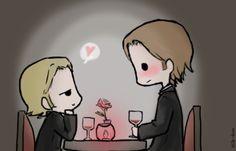 Day 4: On a date (Sabriel version) by Nile-kun.deviantart.com on @deviantART