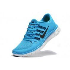Nike Free 5.0+ Herresko Lysblå Svart | Nike sko tilbud | billige Nike sko på nett | Nike sko nettbutikk norge | ovostore.com